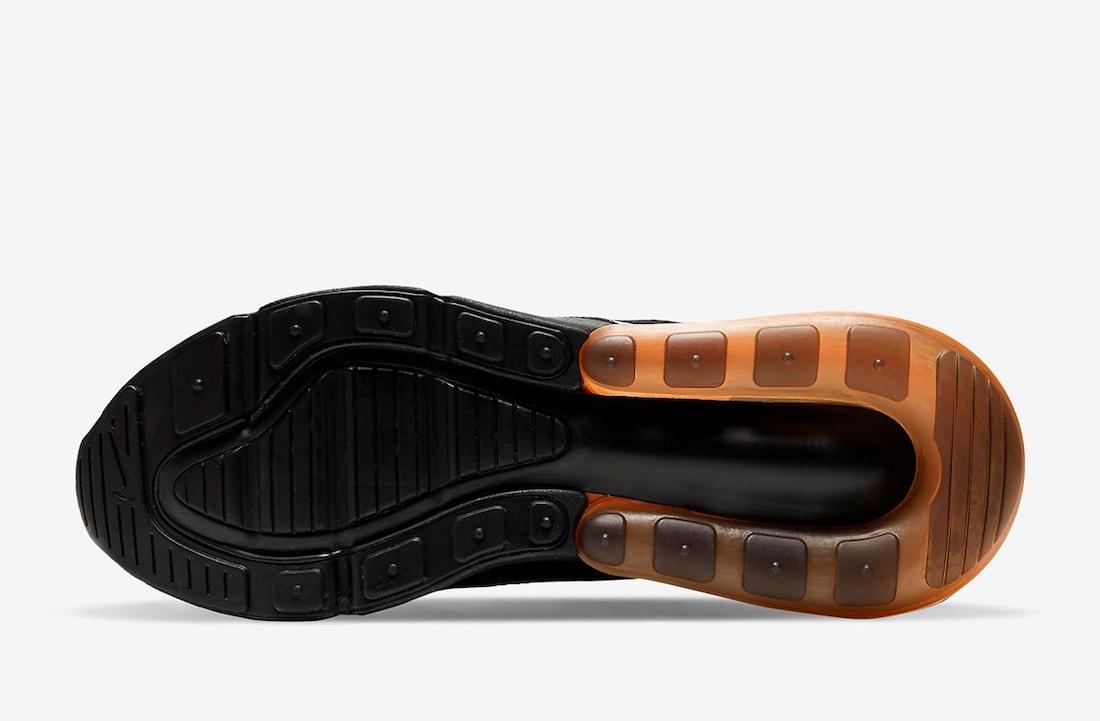 Nike Air Max 270 Black Orange DC1938-001 Release Date Info