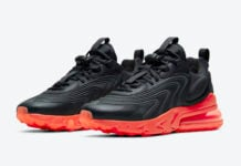 Nike Air Max 270 React ENG Black Orange CZ1759-002 Release Date Info