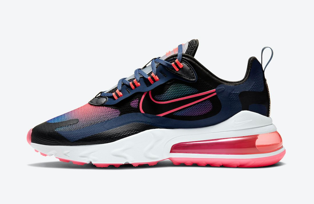 Nike Air Max 270 React SE Navy Crimson Pink CK6929-400 Release Date Info