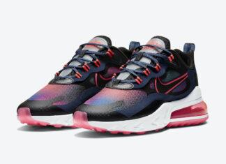 Nike Air Max 270 React SE Navy Crimson Pink CK6929-400 Release Date Info
