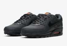 Nike Air Max 90 Grey Orange DC4116-001 Release Date Info