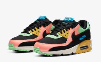 Nike Air Max 90 Multi-Color Fur CT1891-600 Release Date Info