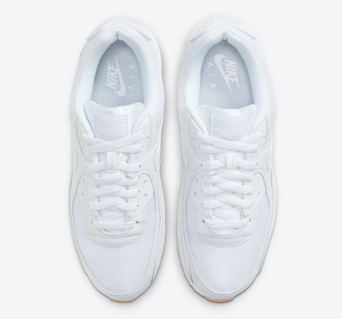 Nike Air Max 90 White Gum DC1699-100 Release Date Info