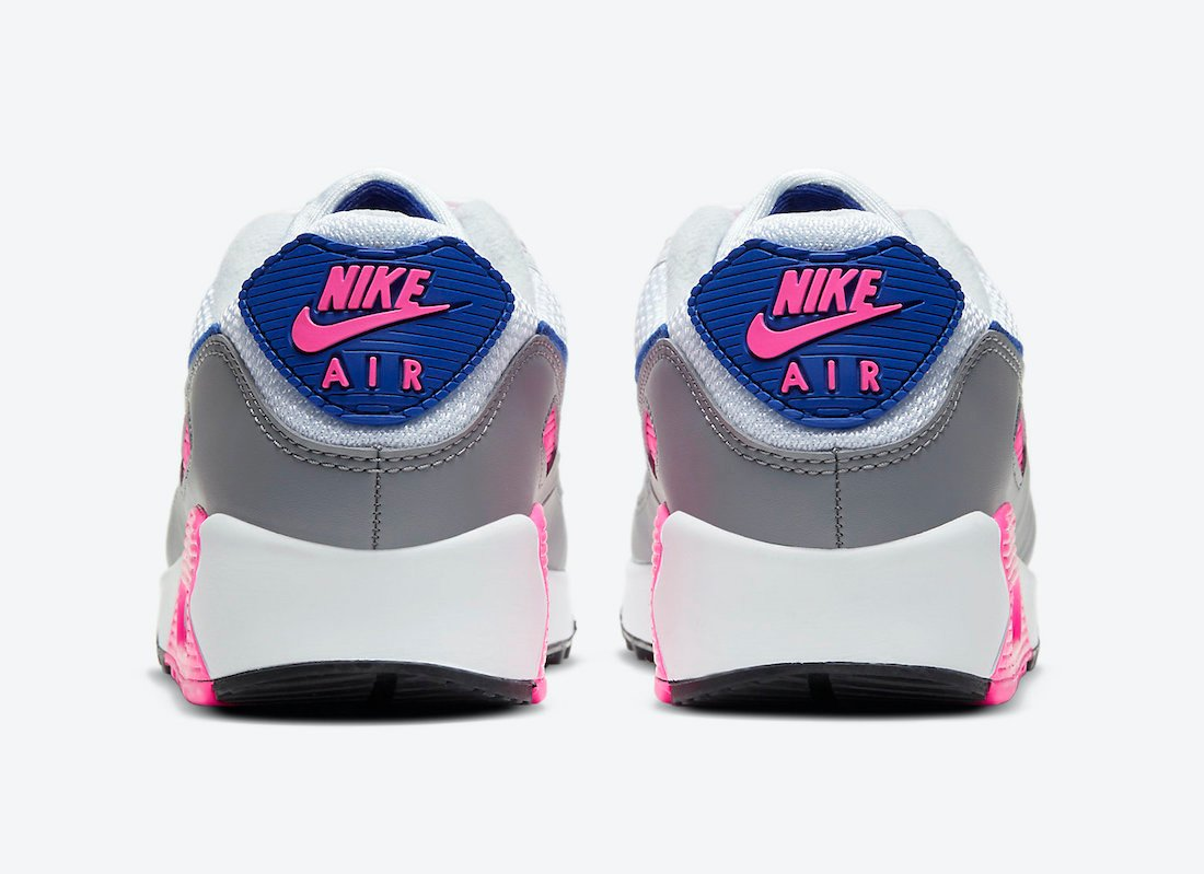 Nike Air Max 90 WMNS Concord Pink Blast CT1887-100 Release Date Info