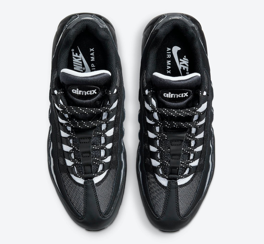 Nike Air Max 95 Essential Black Dark Smoke Grey CT1805-001 Release Date Info