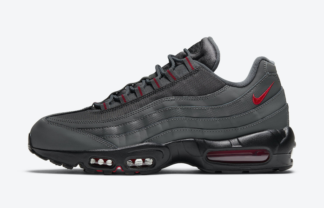 Nike Air Max 95 Grey Red DC4115-002 Release Date Info