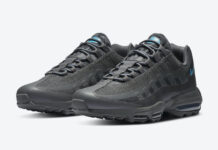 Nike Air Max 95 Ultra Anthracite Laser Blue DC1934-001 Release Date Info