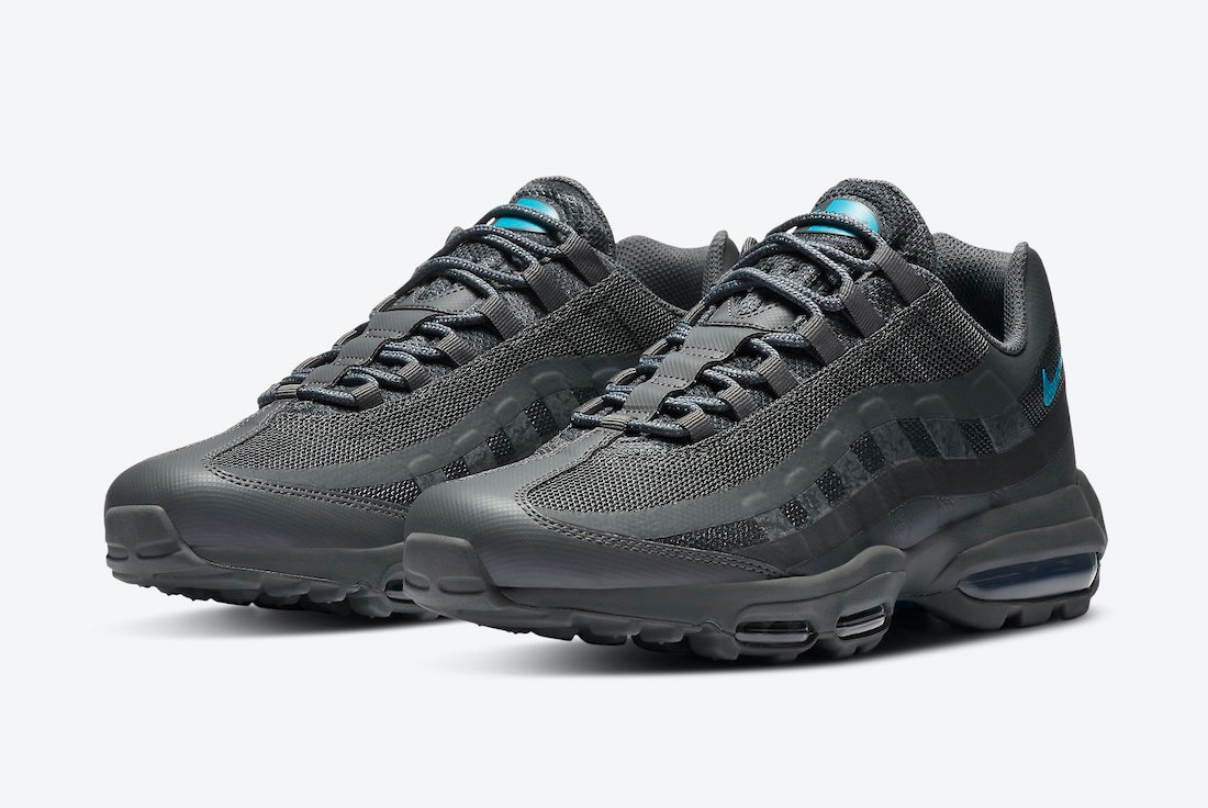 Nike Air Max 95 Ultra Anthracite Laser Blue DC1934-001 Release Date Info | SneakerFiles