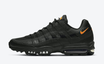 Nike Air Max 95 Ultra Black Orange DC1934-002 Release Date Info