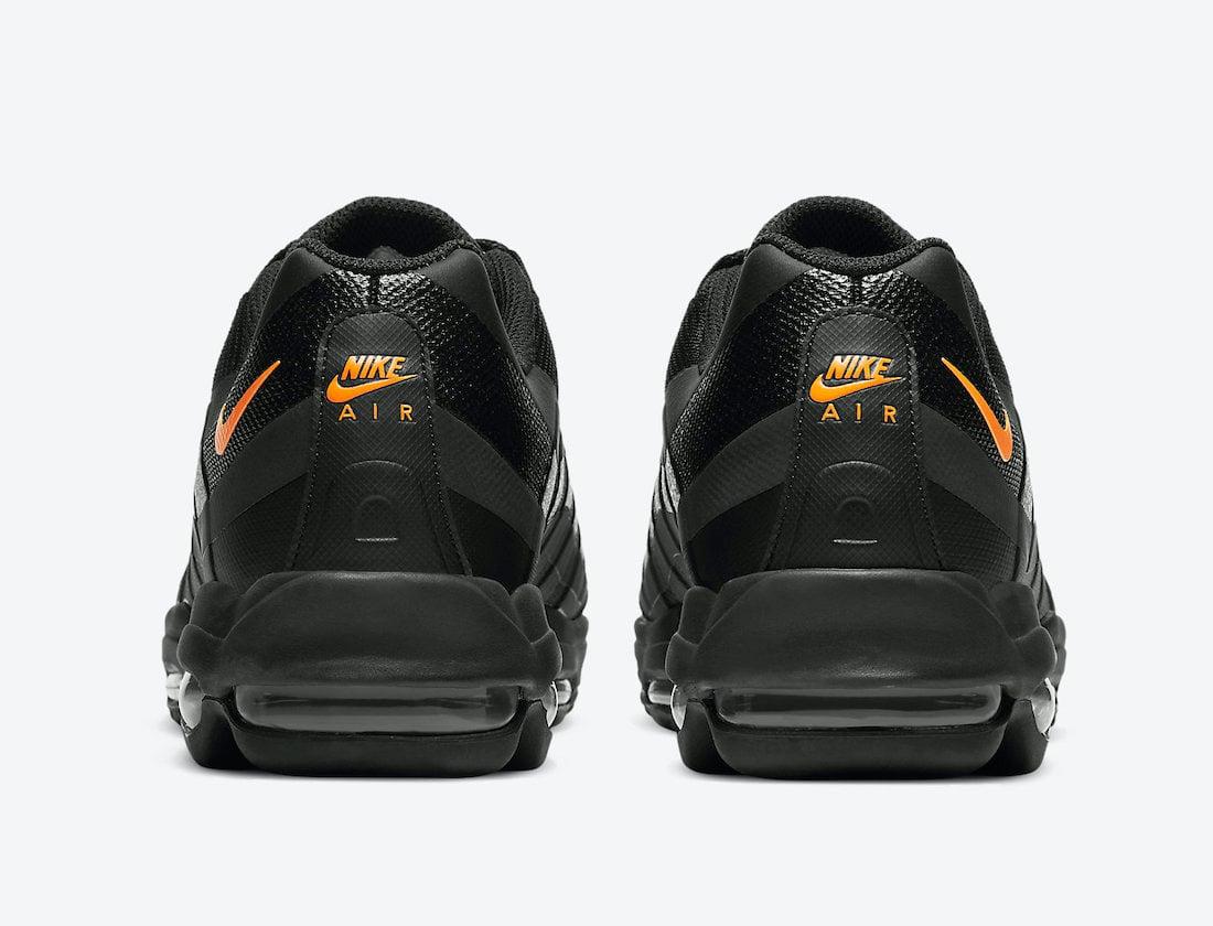 Nike Air Max 95 Ultra Black Orange DC1934-002 Release Date Info