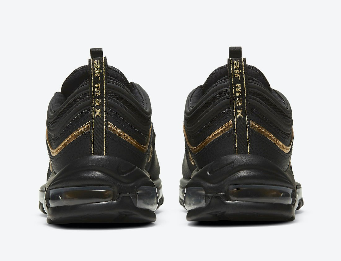 Nike Air Max 97 Black Gold DC2190-001 Release Date Info