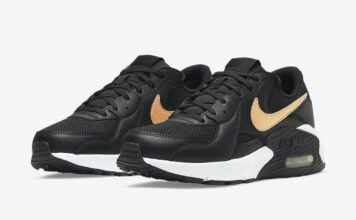Nike Air Max Excee Black Gold DH1088-001 Release Date Info