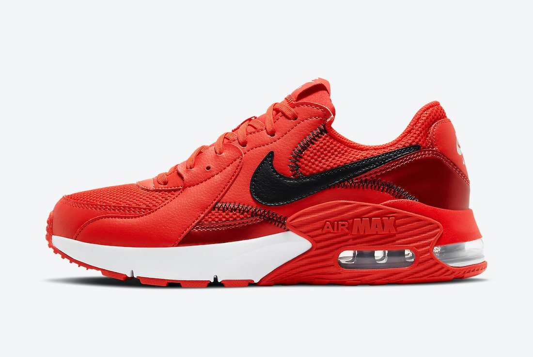 Nike Air Max Excee Red Black DC2341-600 Release Date Info
