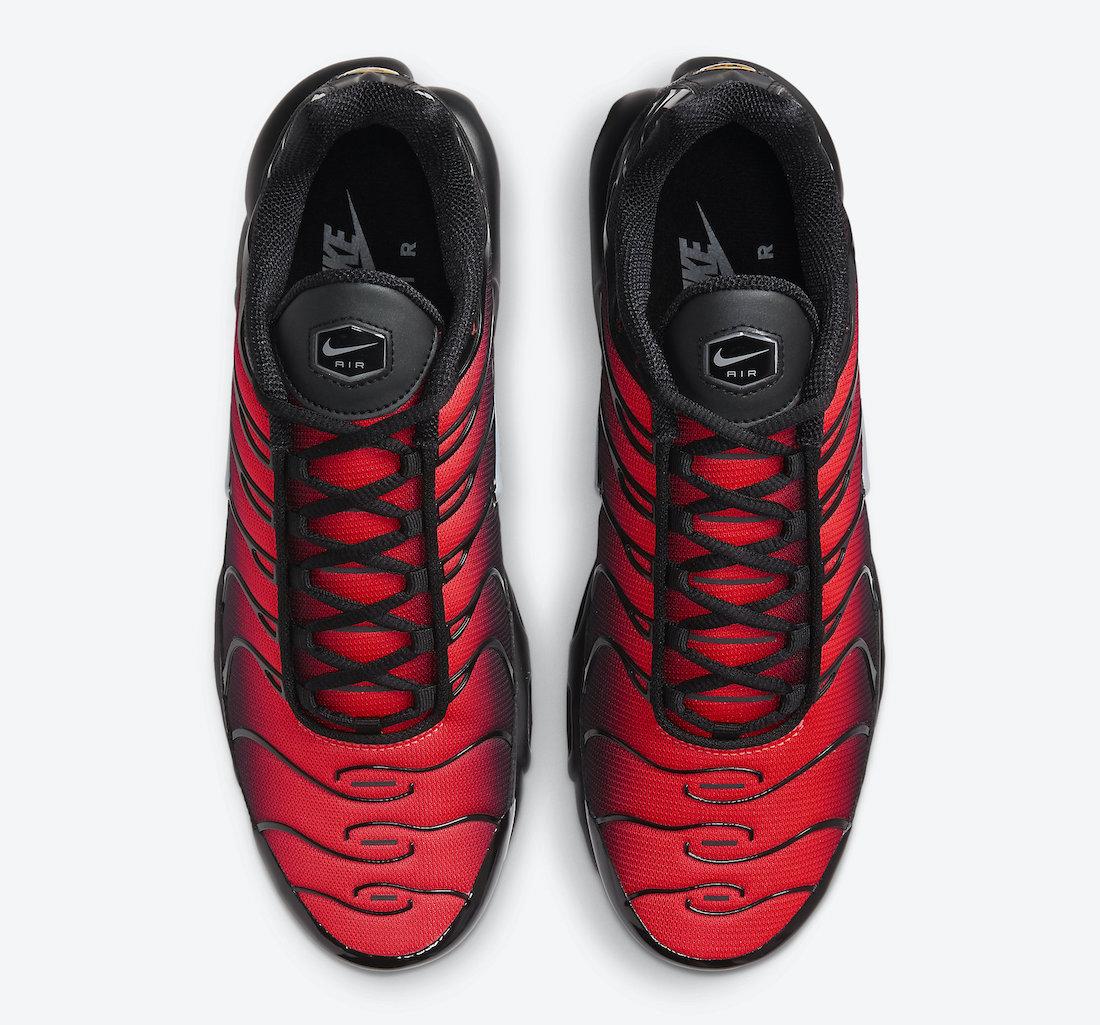 Nike Air Max Plus Black Red DC1936-001 Release Date Info