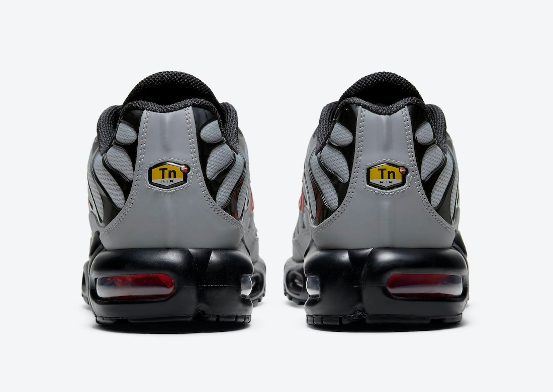 Nike Air Max Plus Grey Black Red DC1936-002 Release Date Info