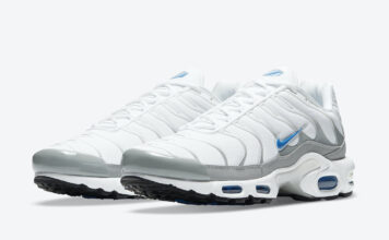 Nike Air Max Plus White Laser Blue DC0956-100 Release Date Info