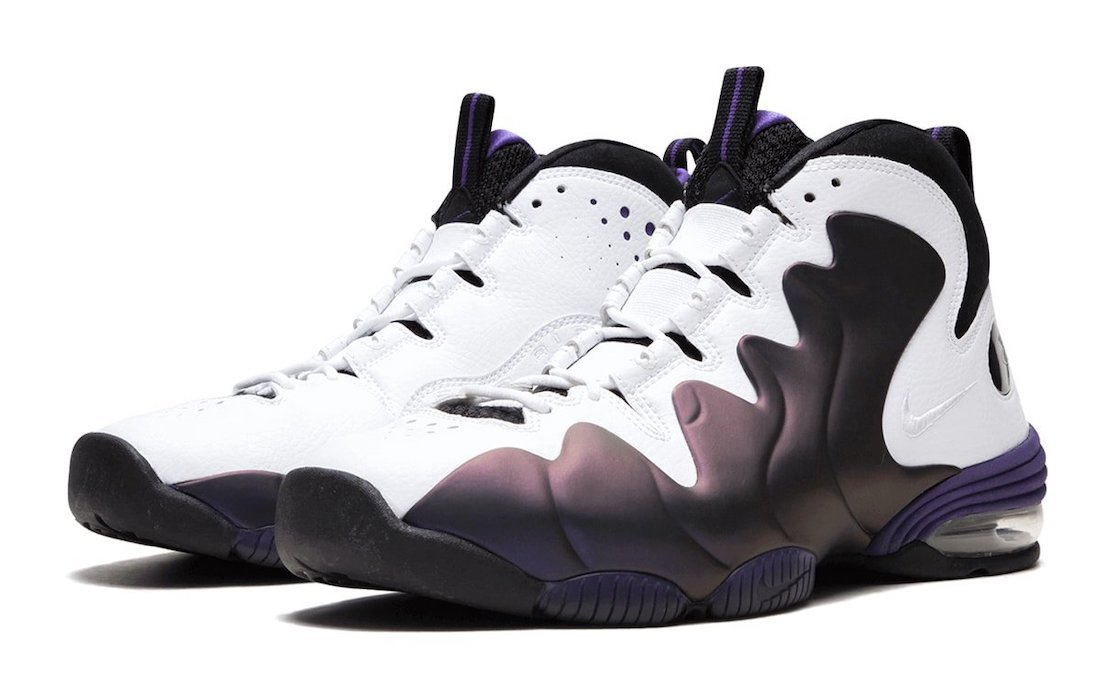 Nike Air Penny 3 Eggplant 2020 CT2809-500 2020 Release Date Info