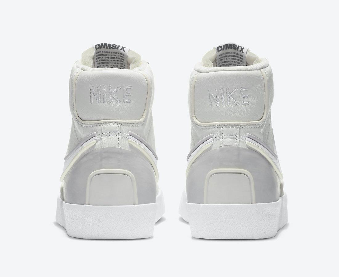 Nike Blazer Mid 77 Infinite White Sail Vast Grey DA7233-101 Release Date Info