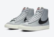 Nike Blazer Mid 77 Vintage Grey Black BQ6806-001 Release Date Info