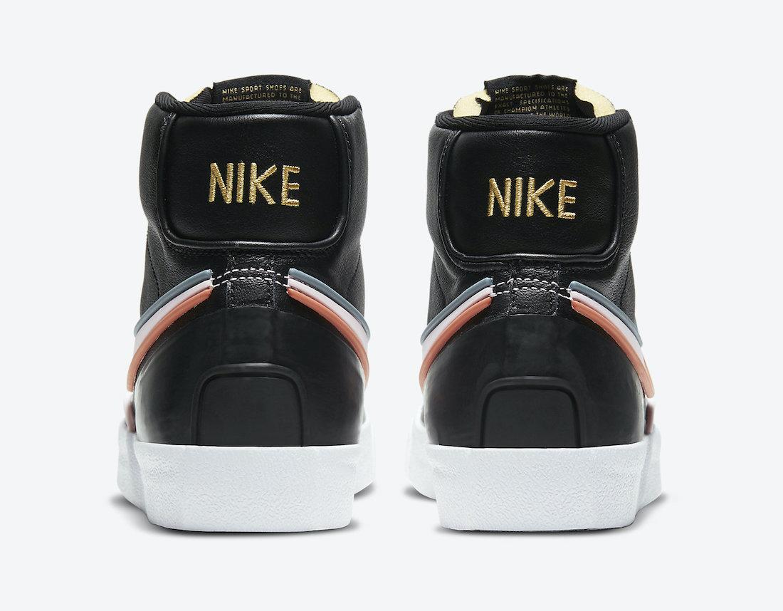Nike Blazer Mid D/MS/X Black DC1746-001 Release Date Info