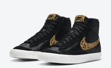 Nike Blazer Mid Leopard DC9207-001 Release Date Info