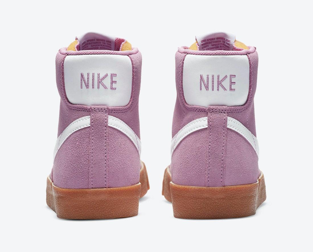 Nike Blazer Mid Magenta Gum DB5461-600 Release Date Info