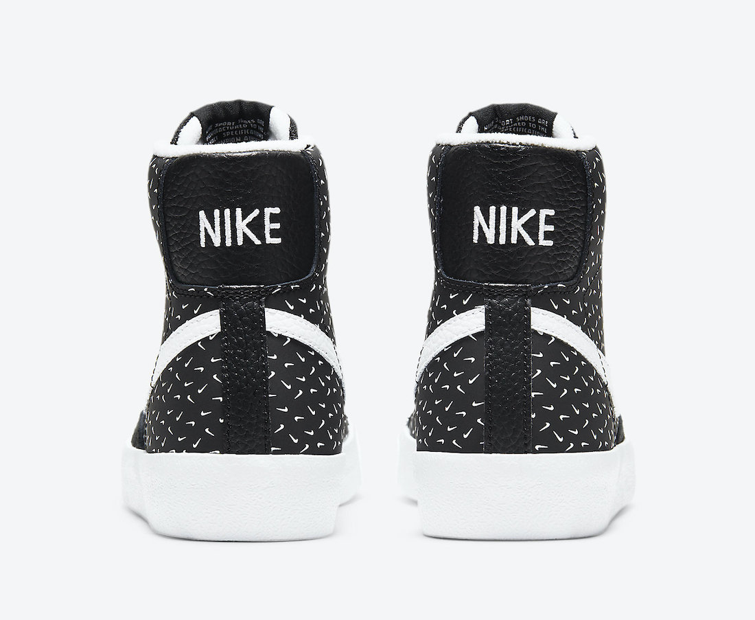 Nike Blazer Mid Polka Swooshes DC9197-001 Release Date Info