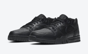 Nike Cross Trainer Low Triple Black CQ9182-001 Release Date Info