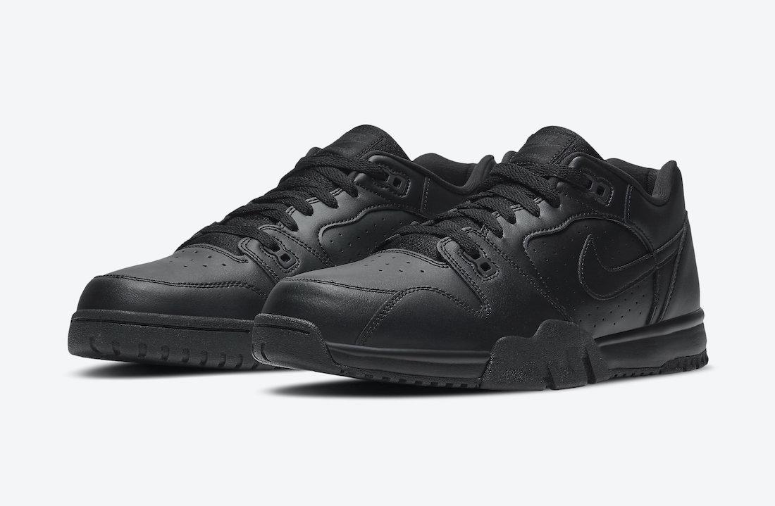 Nike Cross Trainer Low Triple Black CQ9182-001 Release Date Info