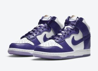 Nike Dunk High Varsity Purple DC5382-100 Release Date