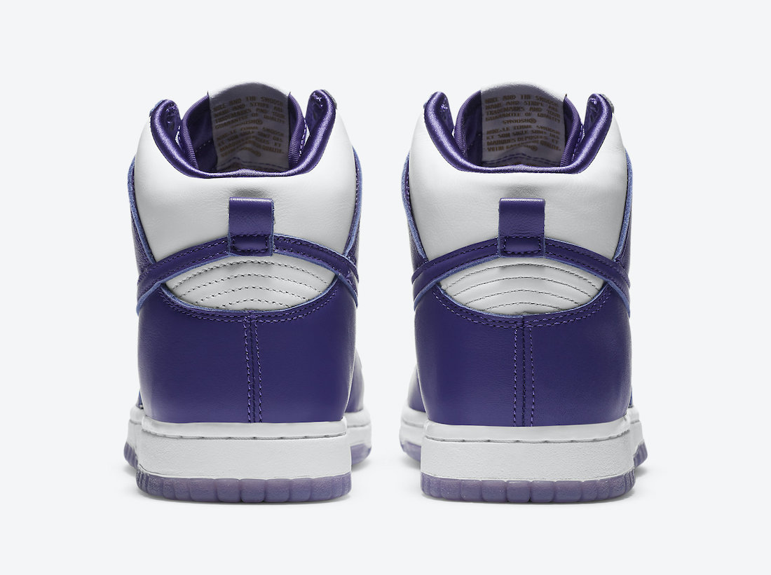 Nike Dunk High Varsity Purple DC5382-100 Release Date