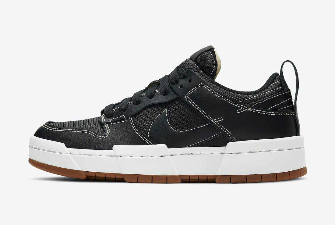 Nike Dunk Low Disrupt Black White CK6654-002 Release Date Info