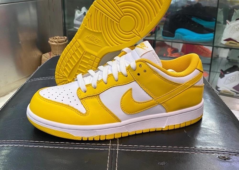 Nike Dunk Low Laser Orange CU1726-901 Release