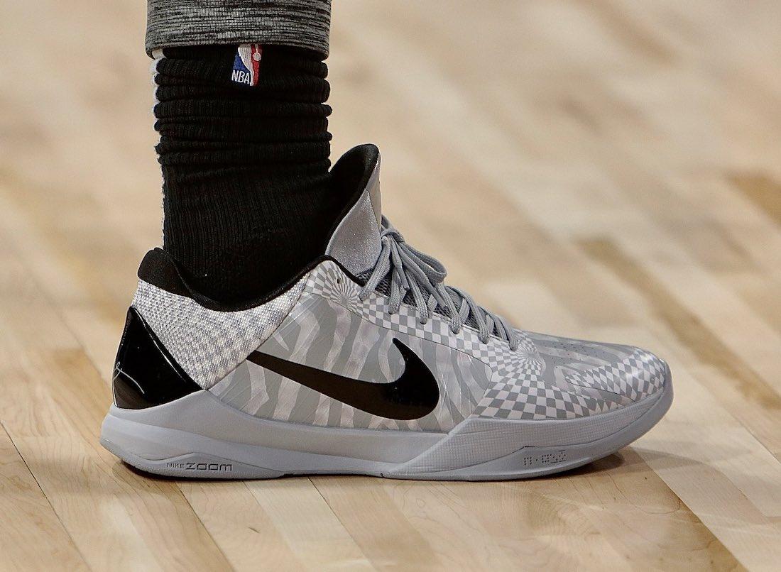 Nike Kobe 5 Protro Zebra DeMar DeRozan CD4991-003 Release Date Info