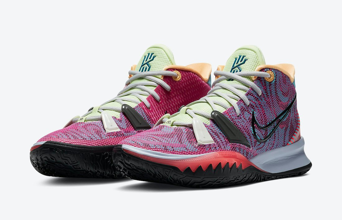 Nike Kyrie 7 Hendrix DC0589-601 Release Date