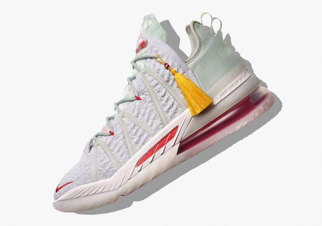 Nike LeBron 18 Empire Jade Release Date Info