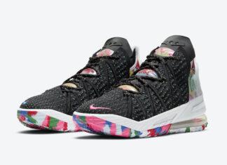 Nike LeBron 18 James Gang Multicolor CQ9283-002 Release Date