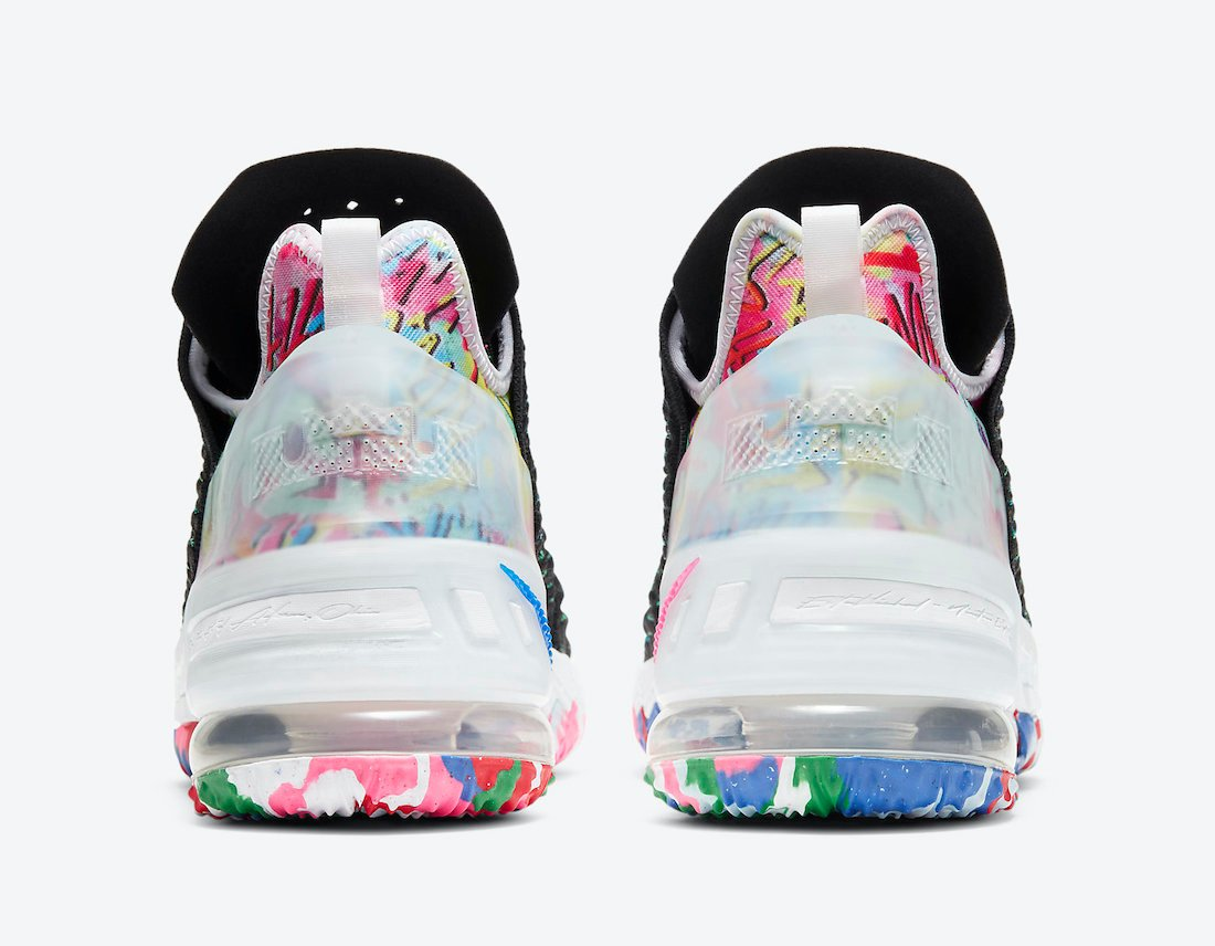 Nike LeBron 18 James Gang Multicolor CQ9283-002 Release Date
