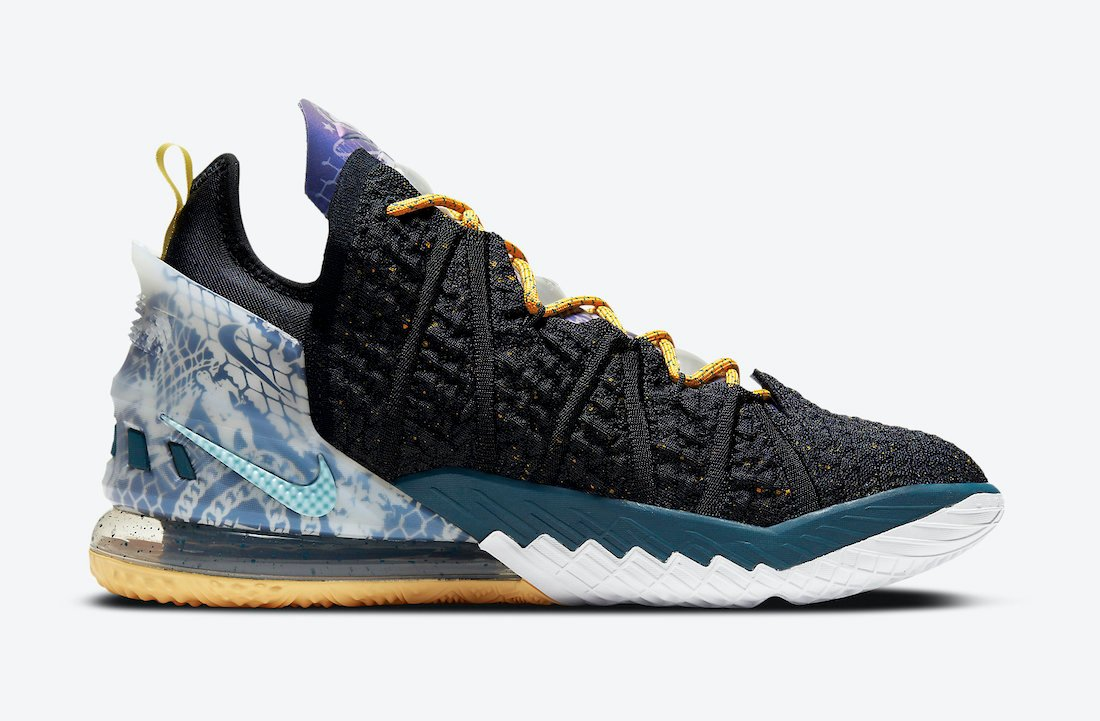 Nike LeBron 18 Reflections DB8148-003 Release Date Info