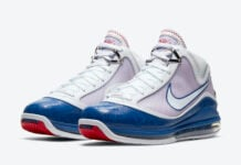 Nike LeBron 7 Dodgers DJ5158-100 Release Date Info