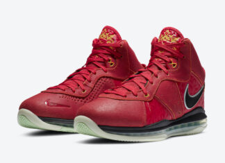 Nike LeBron 8 Gym Red CT5330-600 Release Info