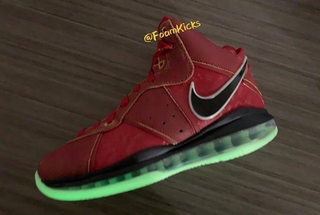 Nike LeBron 8 Gym Red Cucumber Calm Black CT5330-600 Release Date Info