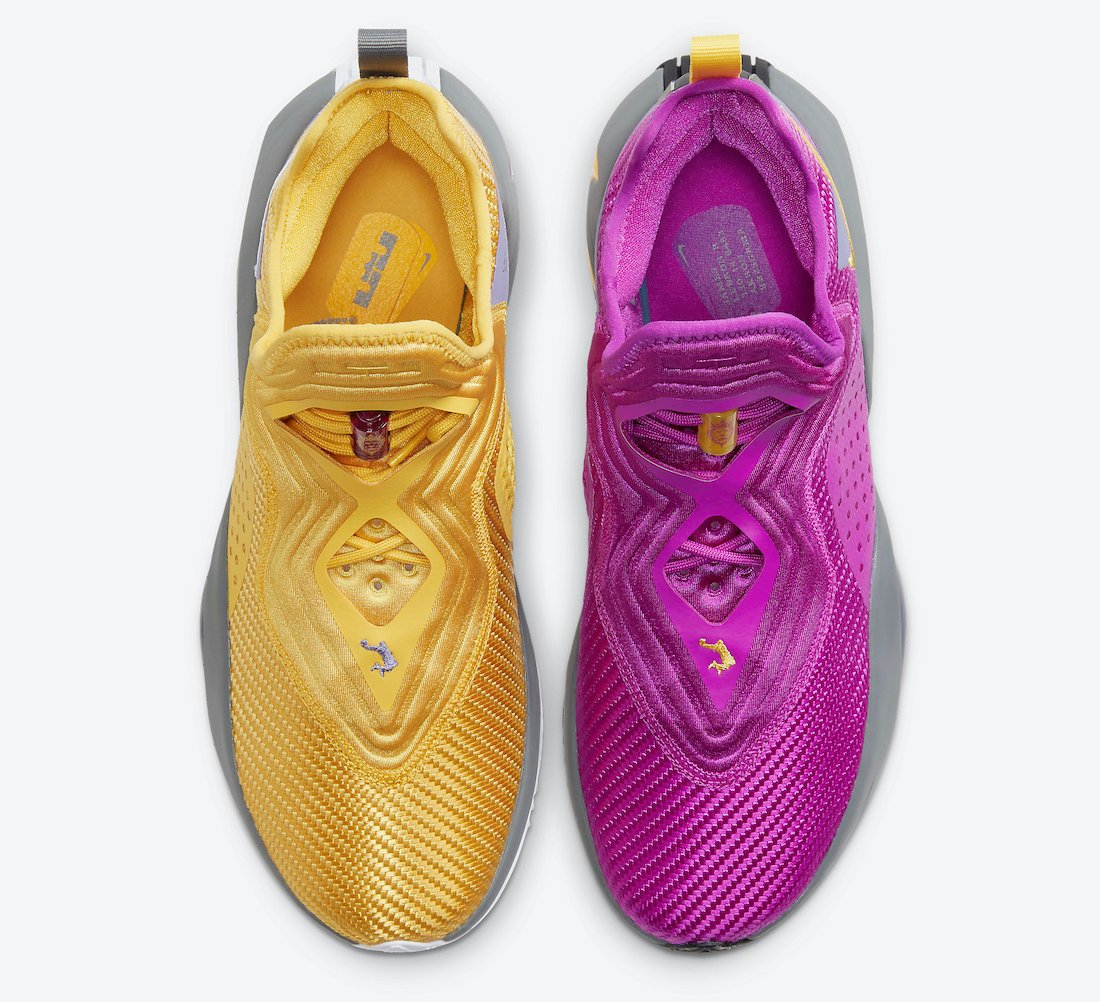 Nike LeBron Soldier 14 Lakers CK6047-500 Release Date Info