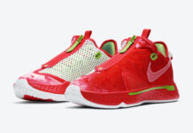 Nike PG 4 Christmas CD5082-602 Release Date