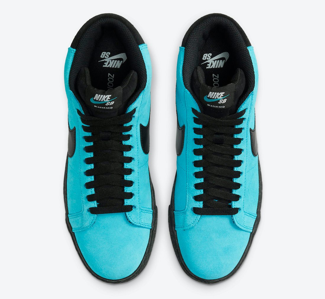 Nike SB Blazer Mid Baltic Blue 864349-400 Release Date Info