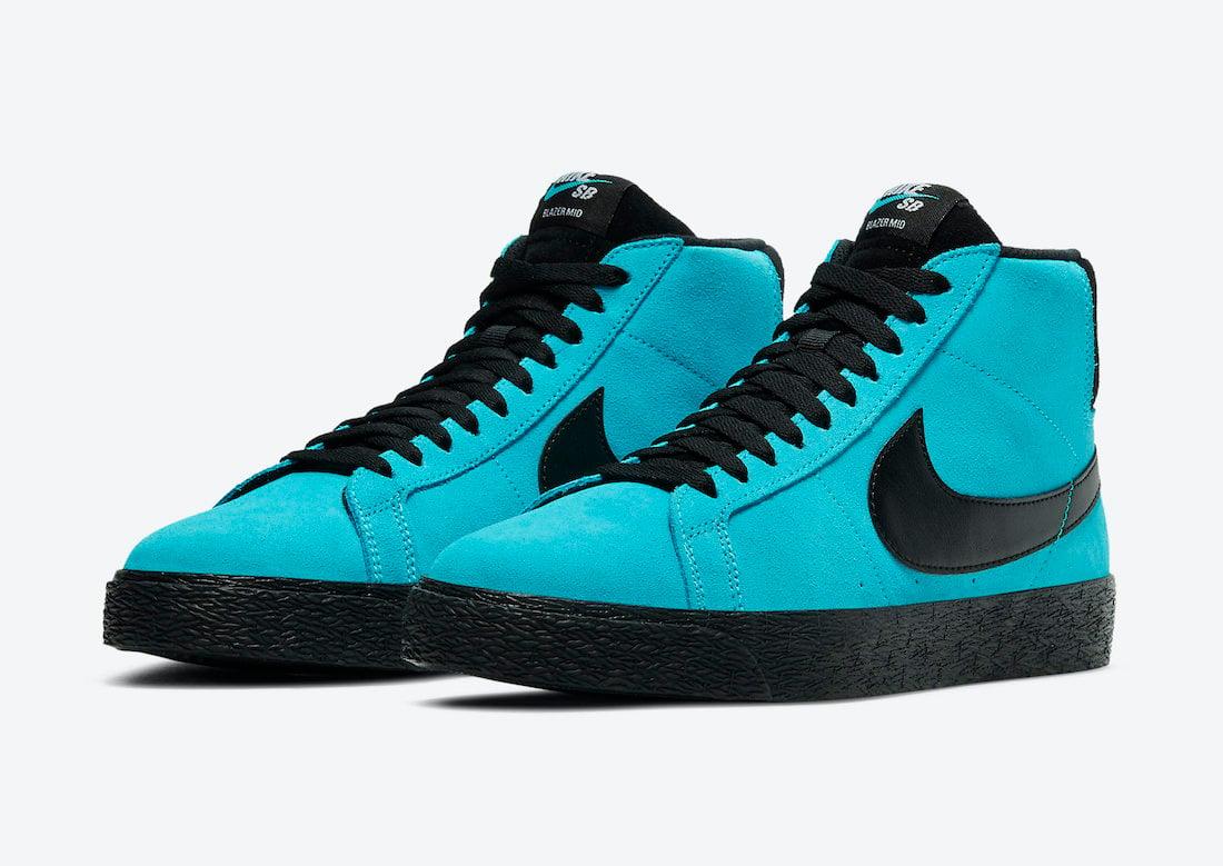 Nike SB Blazer Mid Baltic Blue 864349-400 Release Date Info ...