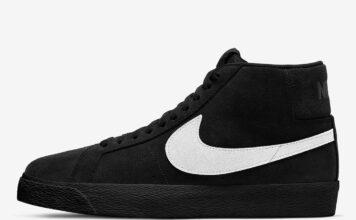 Nike SB Blazer Mid Black Suede 864349-007 Release Date Info