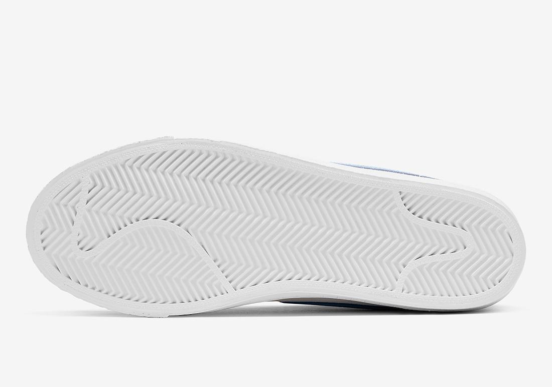 Nike SB Blazer Mid Grey Blue White 864349-008 Release Date Info