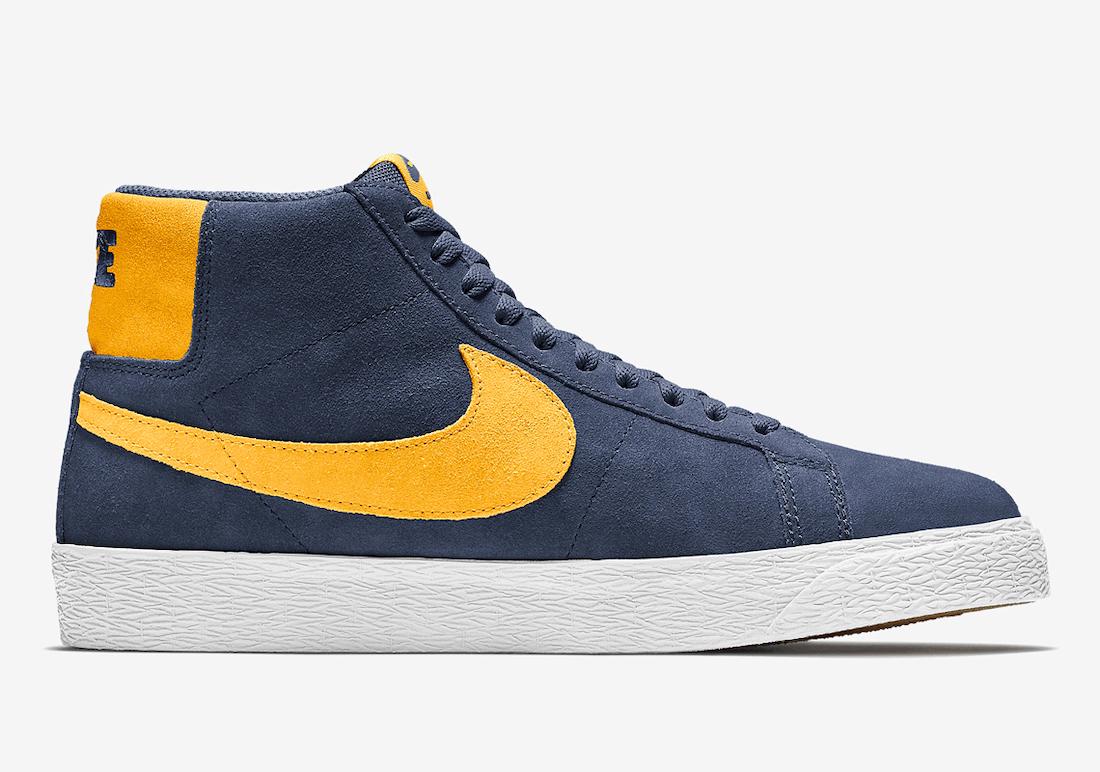 Nike SB Blazer Mid Michigan 864349-402 Release Date Info