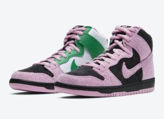 Nike SB Dunk High Invert Celtics CU7349-001 Release Date